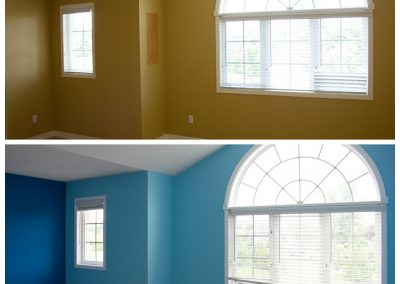 painted bedrooms