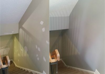 stair case painting